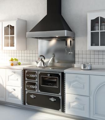 Cucina a legna f900 demanincor abcv services chauffage bois et granul s - Cappa per cucina a legna ...
