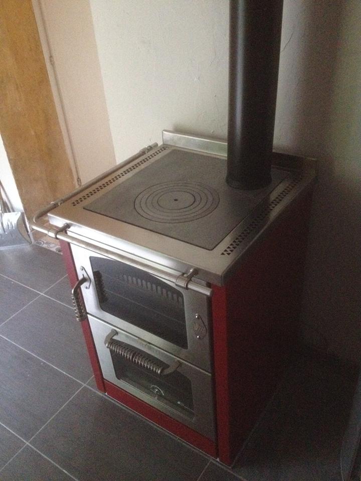 Cuisinière à bois Montfort l'Amaury | ABCV-Services : Poêles à ...