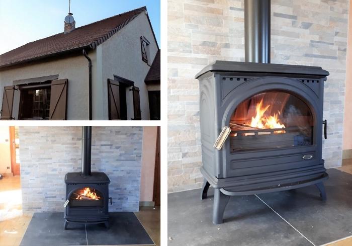 installateur po les abcv services po les bois et. Black Bedroom Furniture Sets. Home Design Ideas